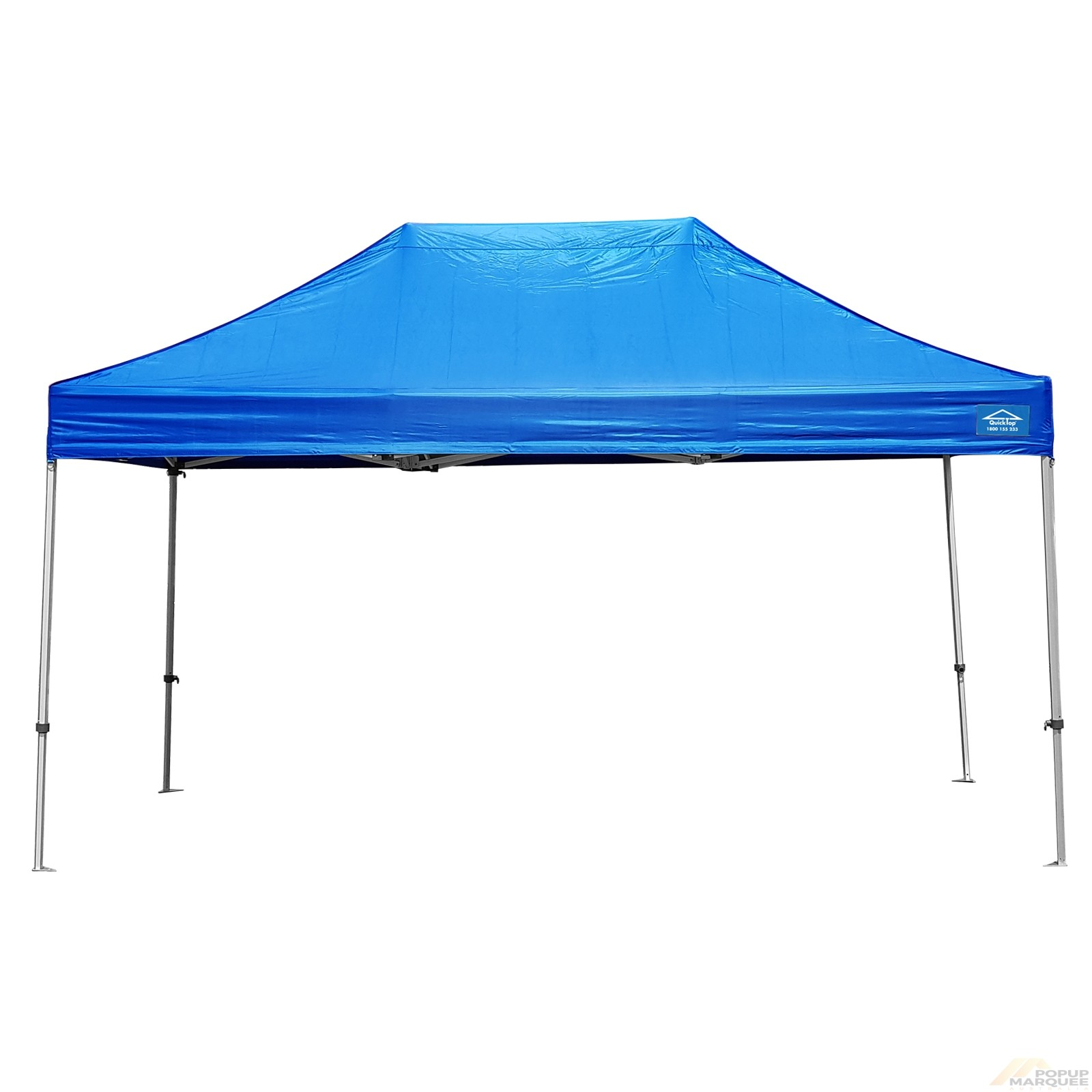 QuickTop 3x4.5m Blue Pop Up Marquee