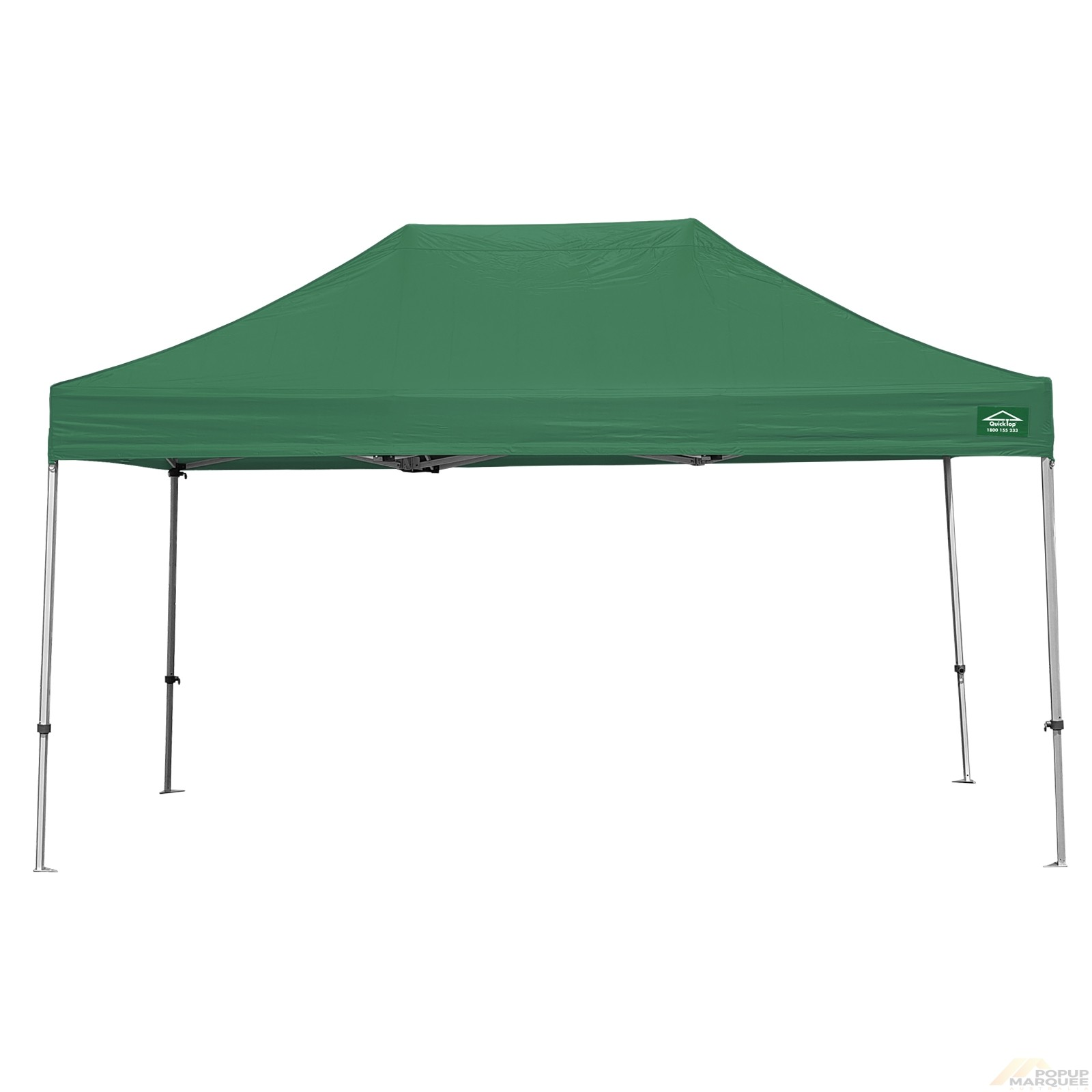 QuickTop 3x4.5m Green Pop Up Marquee