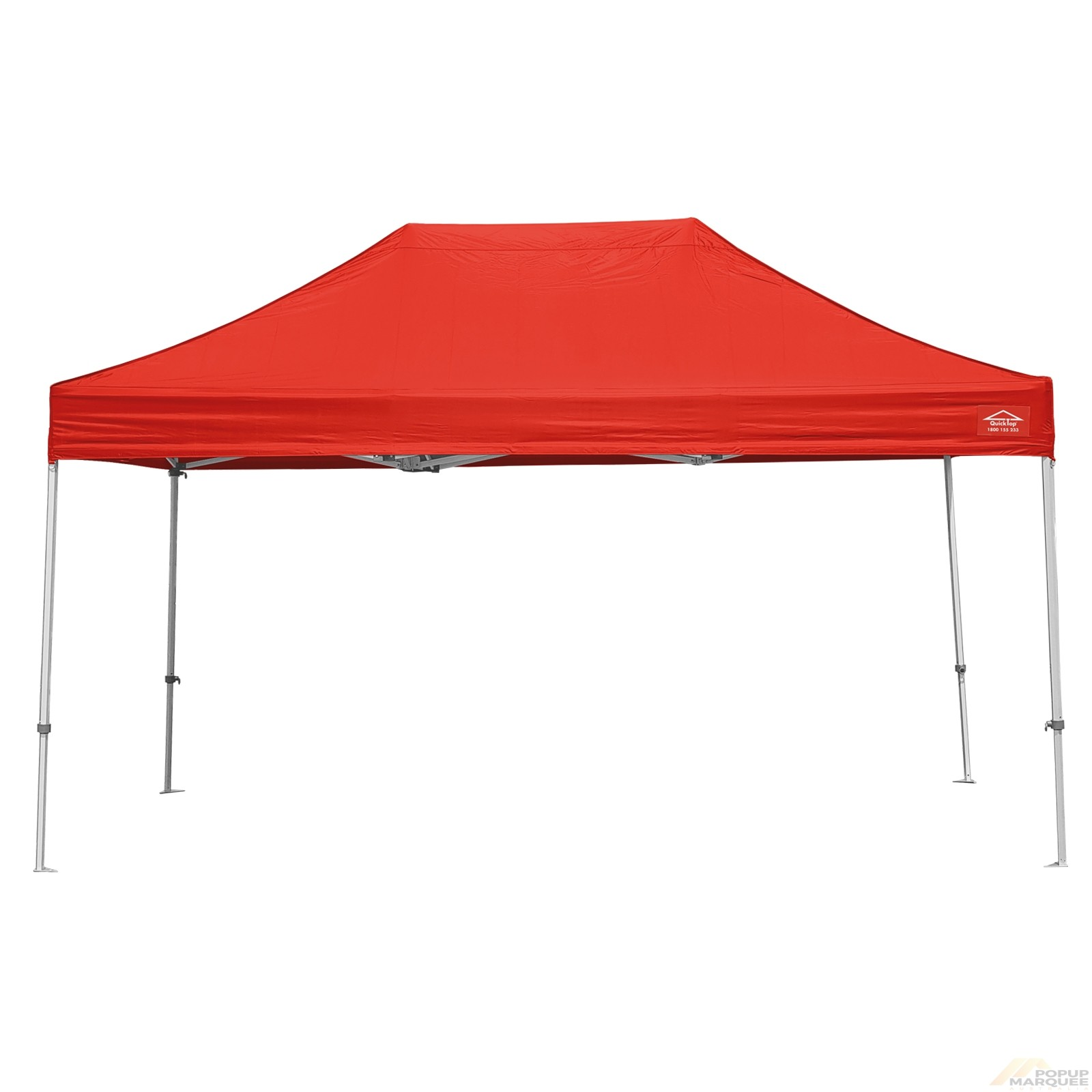QuickTop 3x4.5m Red Pop Up Marquee