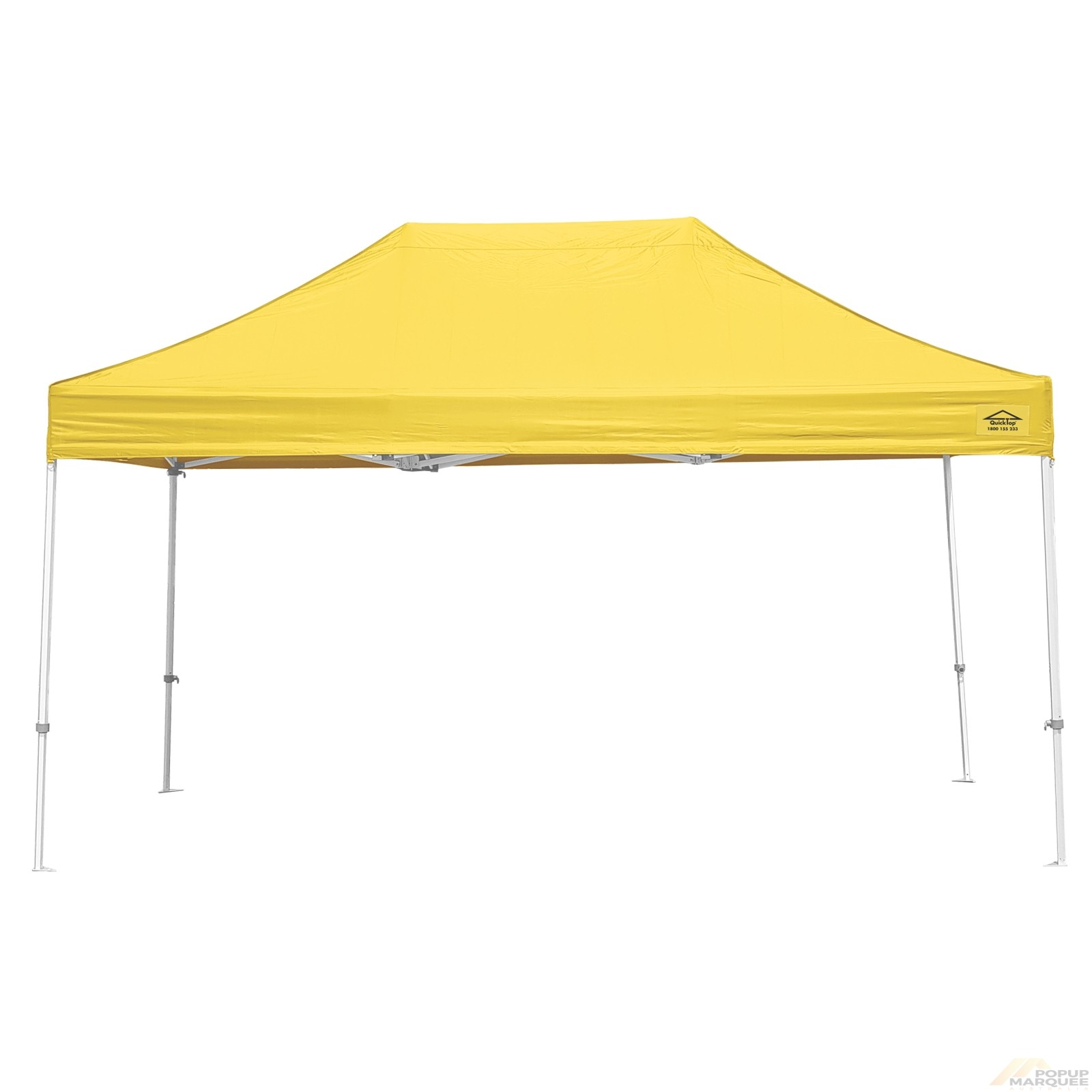 QuickTop 3x4.5m Yellow Pop Up Marquee