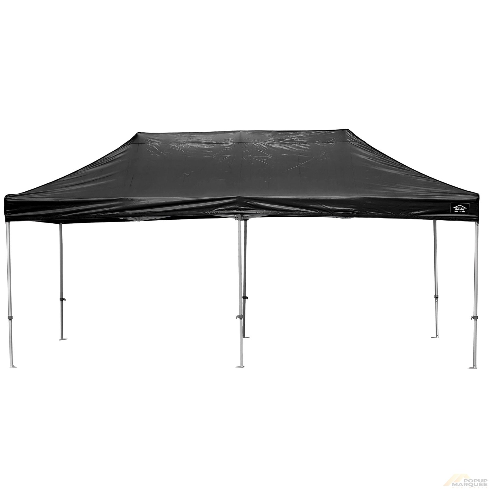 QuickTop 3x6m Black Pop Up Marquee
