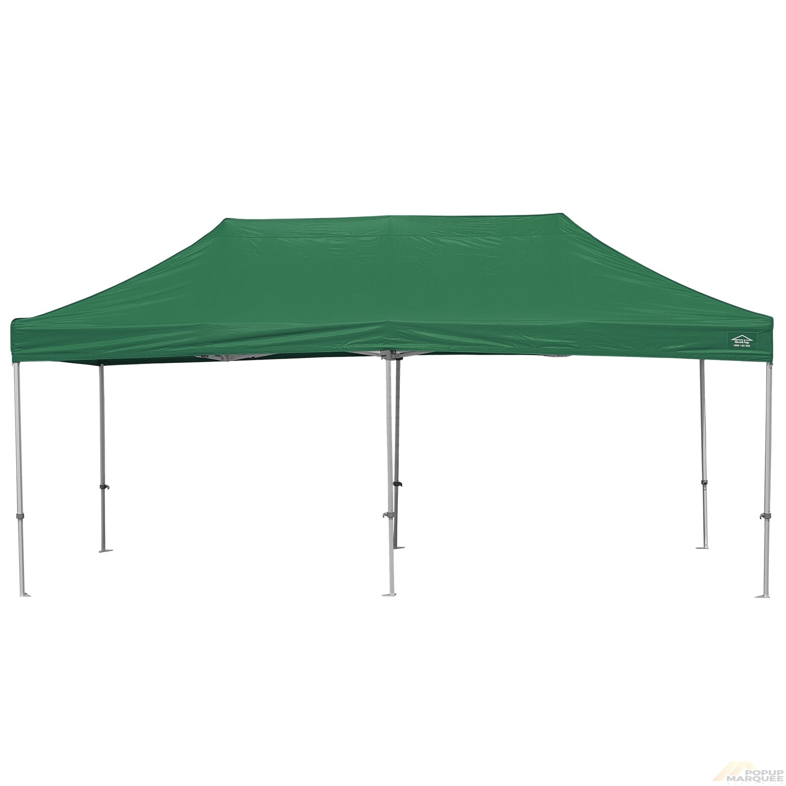 QuickTop 3x6m Green Pop Up Marquee