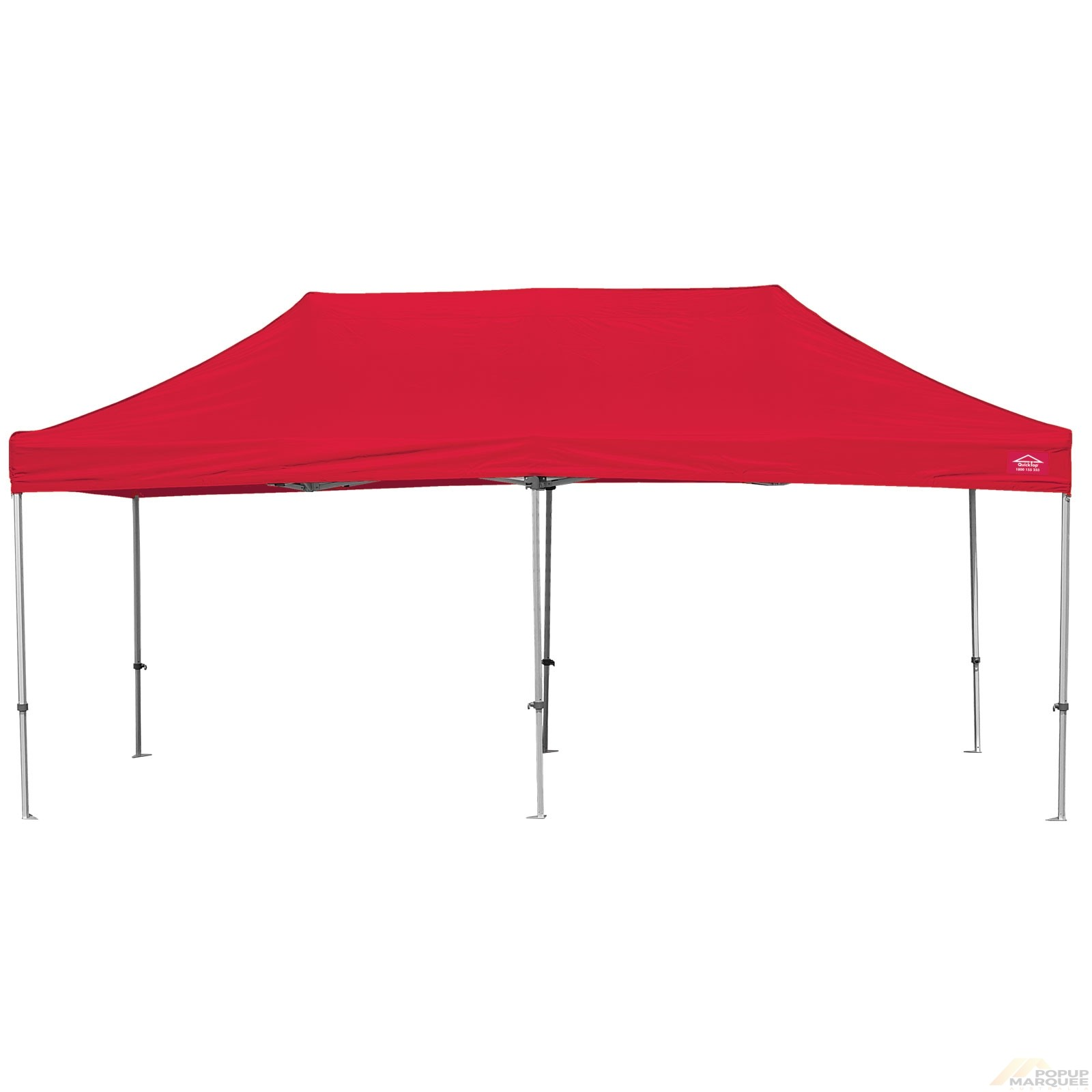 QuickTop 3x6m Red Pop Up Marquee