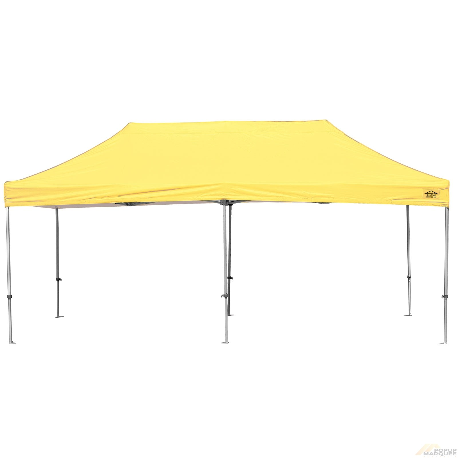 QuickTop 3x6m Yellow Pop Up Marquee