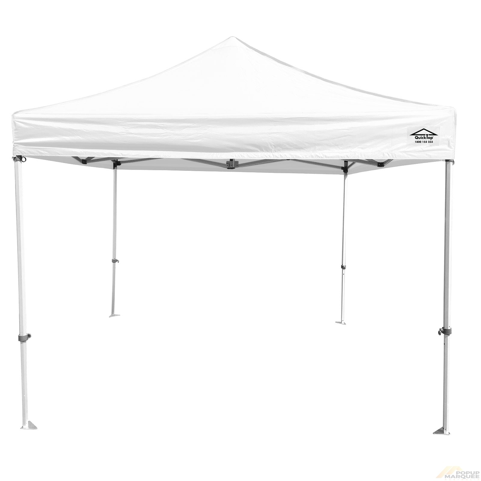 QuickTop 3x3m White Pop Up Marquee