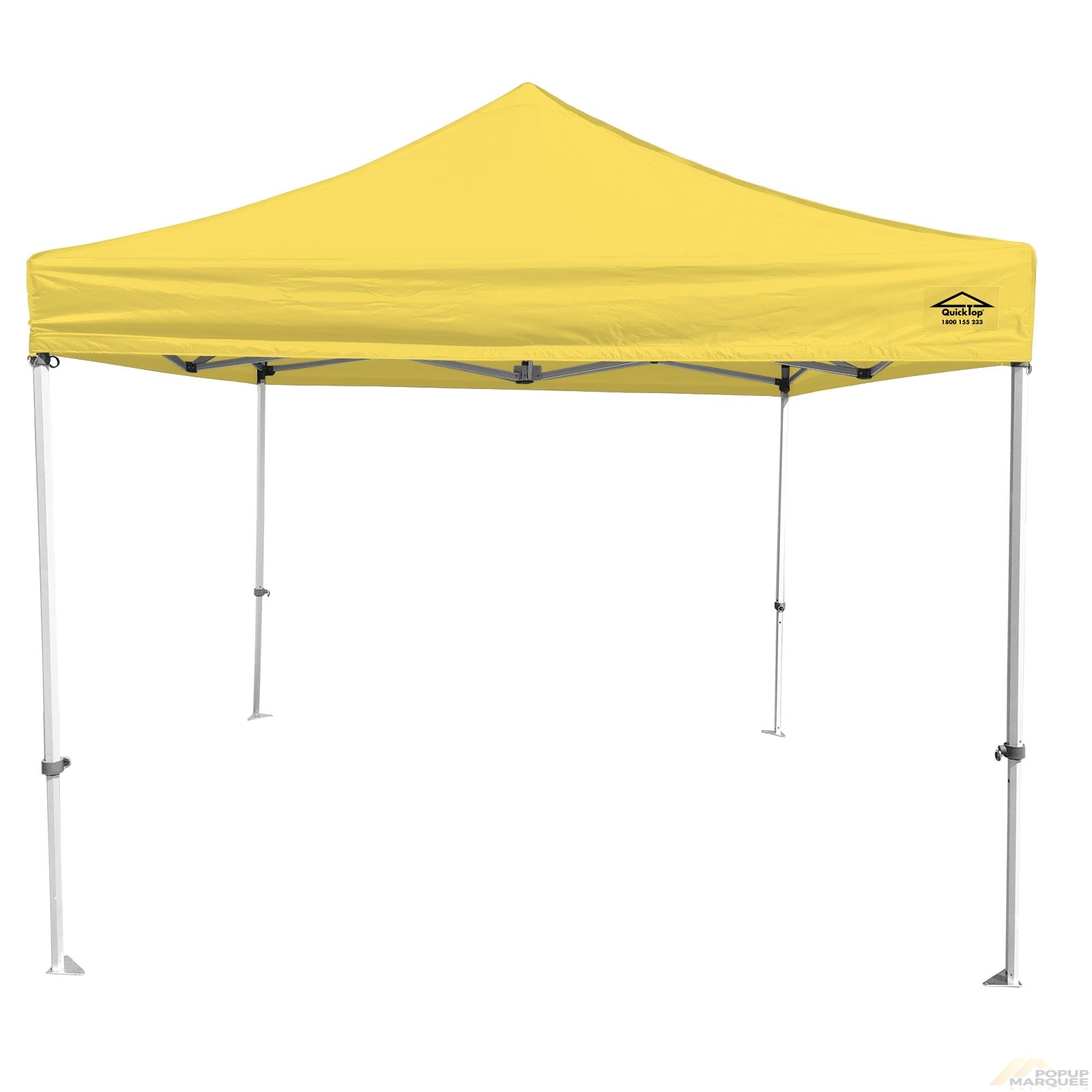 QuickTop 3x3m Yellow Pop Up Marquee