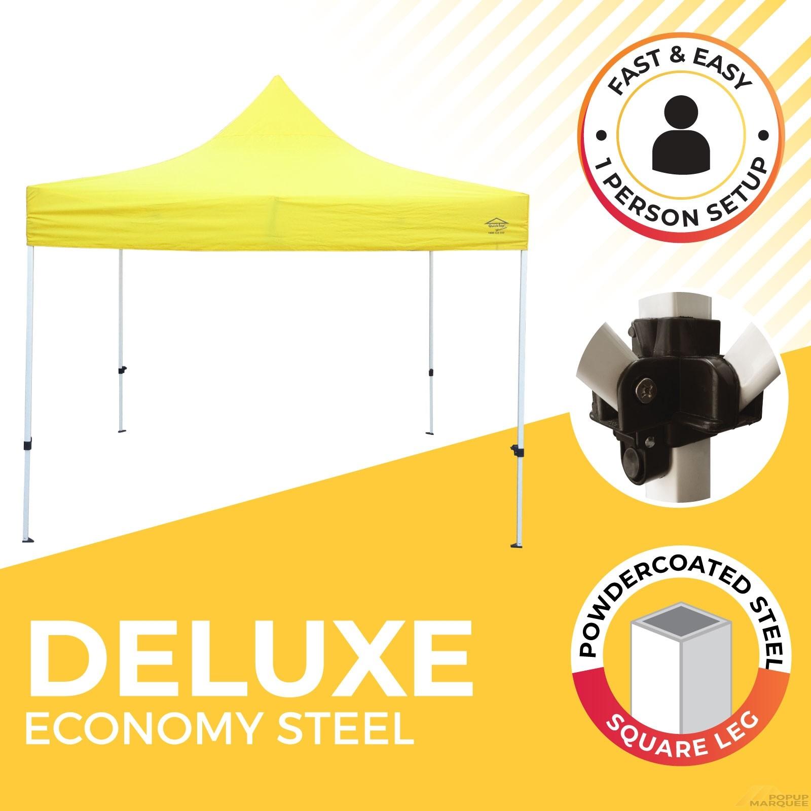 Deluxe Economy Steel Popup Marquee