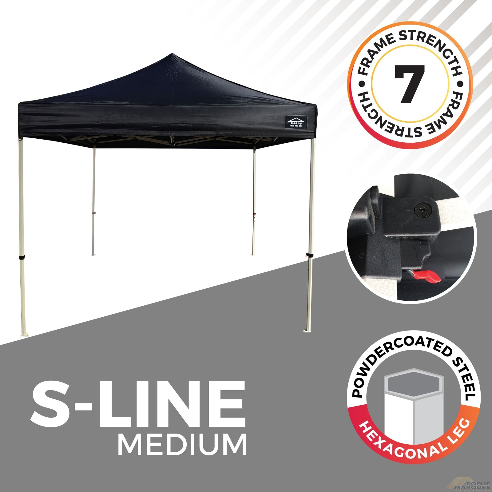 """""""S-LINE"""" Popup Marquee"""