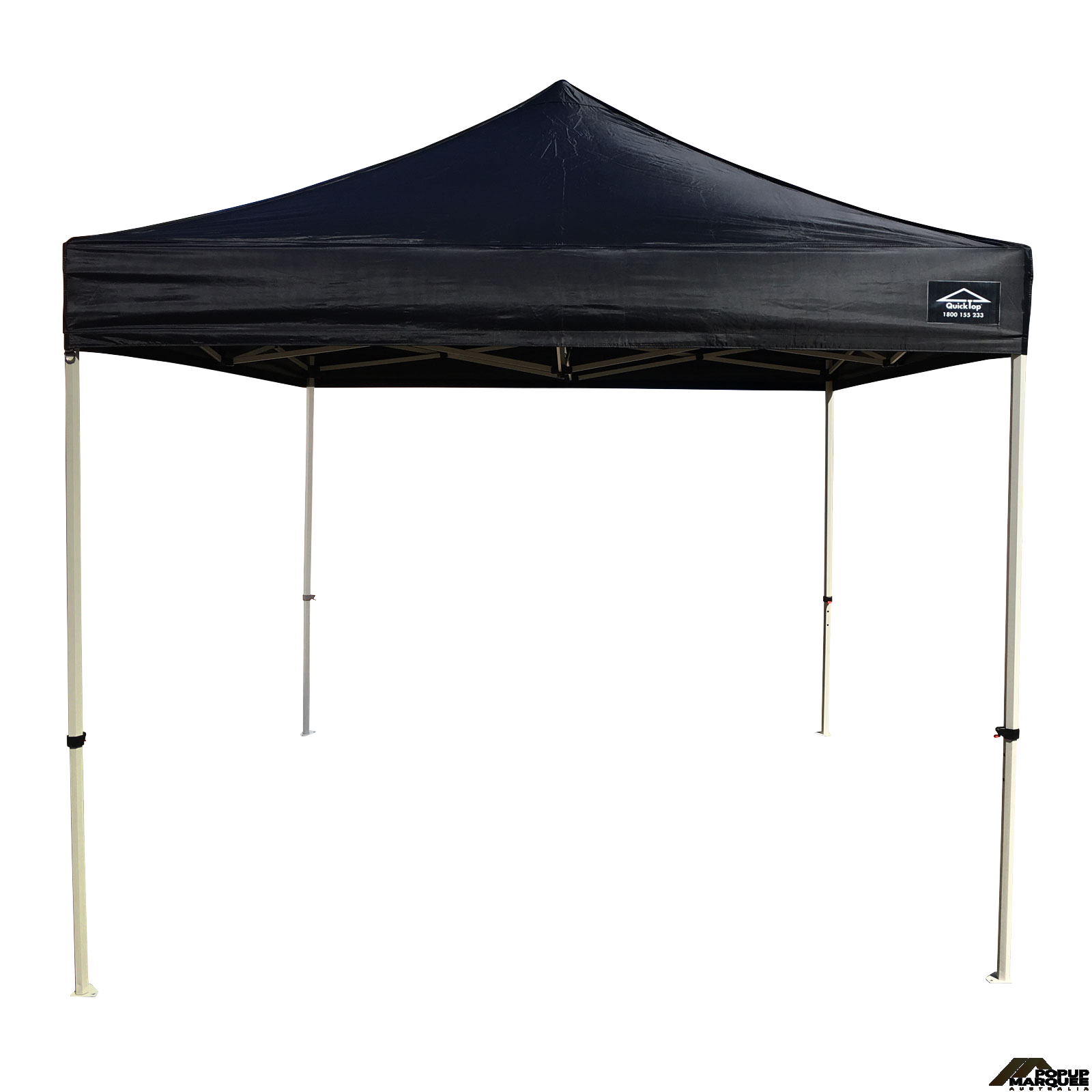 QuickTop 3x3m Black Pop Up Marquee