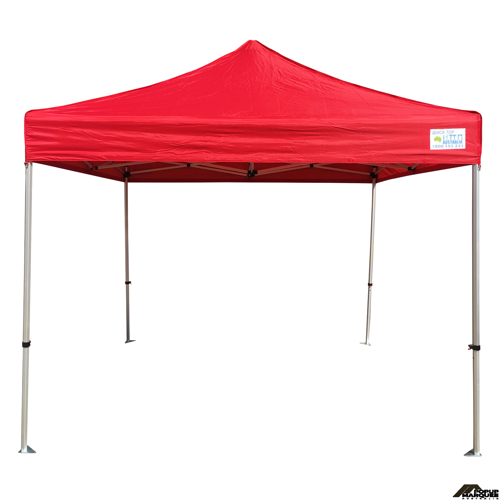 QuickTop 3x3m Red Pop Up Marquee