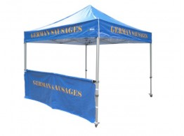 Quick Top Pro & Sports Half Wall with Bar - 3.0m