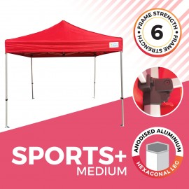 """""""Sports Plus"""" Popup Marquee"""