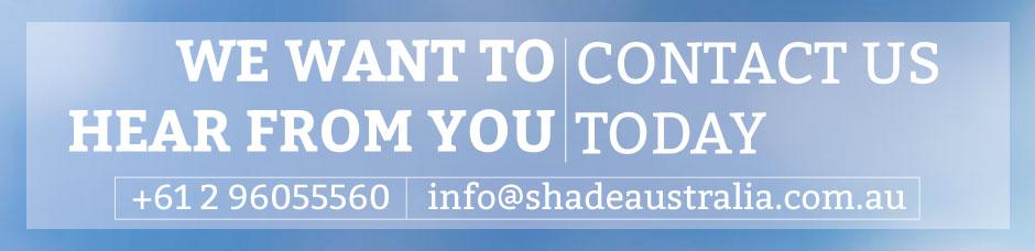 Contact Shade Australia today