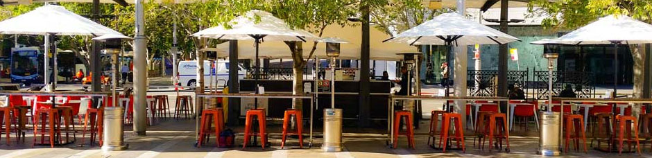 Sunranger Umbrellas Cafe