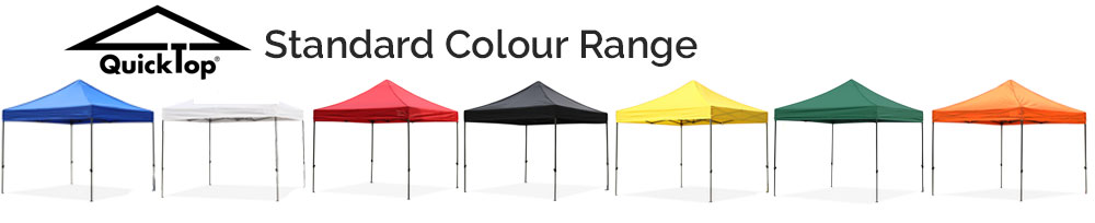 Quicktop Standard Colour Range
